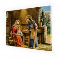 Holy Family painting on canvas