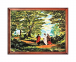 Road to Emmaus religious image