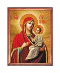Mother of God with the Child religious image