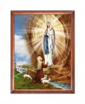 Our Lady of Lourdes religious image