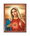 Immaculate Heart of Mary religious image