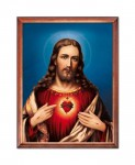 Sacred Heart of Jesus religious image