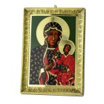 Our Lady of Częstochowa Icon made of metal