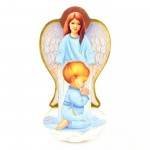 Guardian Angel Icon - baptism gift for a boy