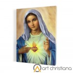 Immaculate Heart of Mary, print on canvas, wall art