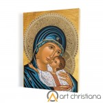 Mother of God print on canvas, wall art