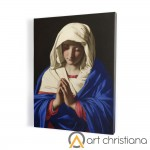 Praying Mother of God, print on canvas, wall art