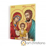 Holy Family print on canvas, wall art
