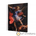 Archangel Michael print on canvas, wall art