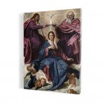 Coronation of the Mother of God, print on canvas, wall art