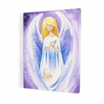 Angel, print on canvas, wall art