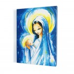 Mother of God with the Child, print on canvas, wall art