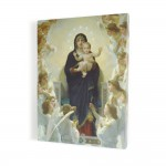 Angelic Mother of God, print on canvas, wall art