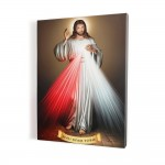 Merciful Jesus (ver. 1) print on canvas, wall art