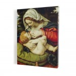 Nursing Mother of Child, print on canvas, wall art