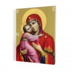 Madonna with the Child, print on canvas, wall art