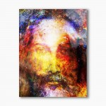 I am who I am, modern religious plexiglass painting