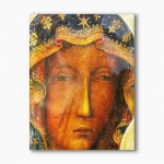 Our Lady of Czestochowa, modern religious plexiglass painting