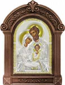 Greek Icon of the Holy Family