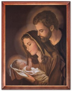 Holy Family religious image