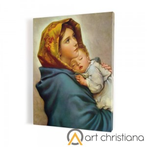 Gypsy Mother of God, print on canvas, wall art
