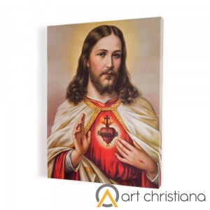 Sacred Heart of Jesus print on canvas, wall art