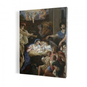 Mother of God of the Gate of Dawn, print on canvas, wall art