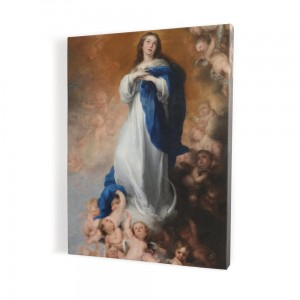 Our Lady Immaculate, print on canvas, wall art