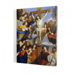 Crucifixion of Christ, print on canvas, wall art